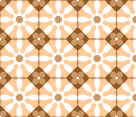 skittle flower tile