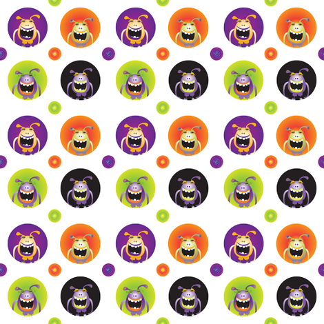 candy_monster fabric by wendyg on Spoonflower - custom fabric