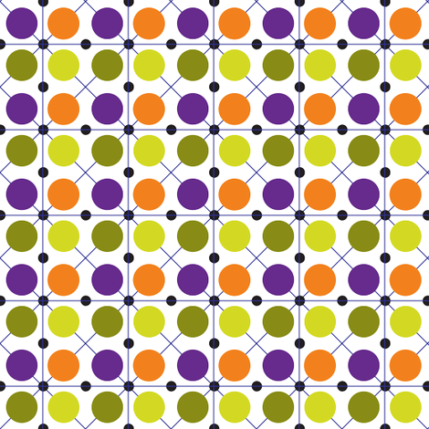 candy_monster_dots fabric by wendyg on Spoonflower - custom fabric