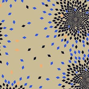 Fibonacci Fireworks (Inverted)