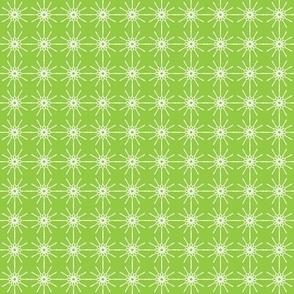 Tiny Line Art - Lime