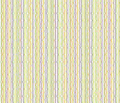 candy_monster_lines fabric by wendyg on Spoonflower - custom fabric