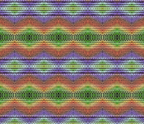 rainbow_zentangle fabric by vinkeli on Spoonflower - custom fabric