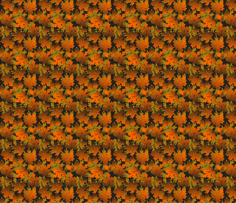 ©2011 Autumn Delight fabric by glimmericks on Spoonflower - custom fabric