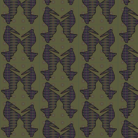 Blackbirds fabric by david_kent_collections on Spoonflower - custom fabric