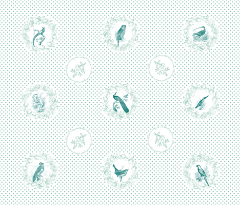 Bird Parliament fabric by annaoni on Spoonflower - custom fabric