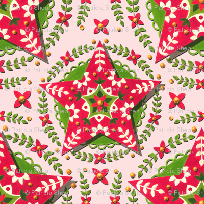 Folkloric Christmas Star by Patricia Shea