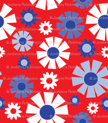 wallpaper flower (bicentennial)