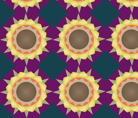 Autumn Flower fabric by brandymiller on Spoonflower - custom fabric
