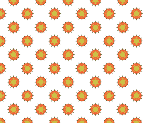 Autumn Beauty Print fabric by brandymiller on Spoonflower - custom fabric
