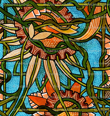 Stained Glass Autumn