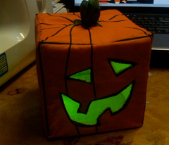 The ONLY Working Battery Powered Tea Light jack_o_lantern in the contest
