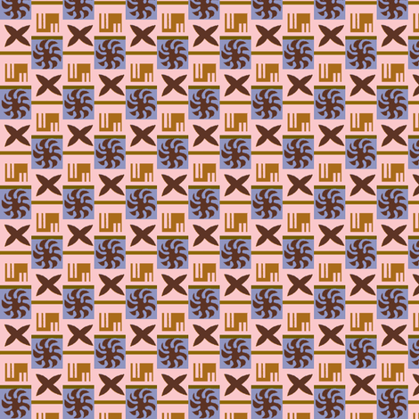 1930s Baby Checkerboard fabric by boris_thumbkin on Spoonflower - custom fabric