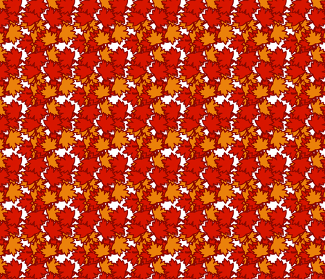 falling_leaves fabric by rockpaperfabric_design on Spoonflower - custom fabric