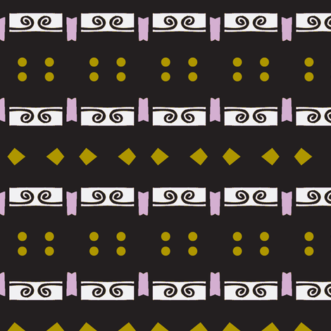 New Year's Stripe fabric by boris_thumbkin on Spoonflower - custom fabric