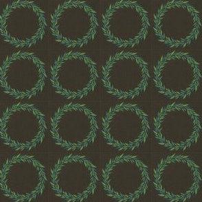 Wreath (blue/green)