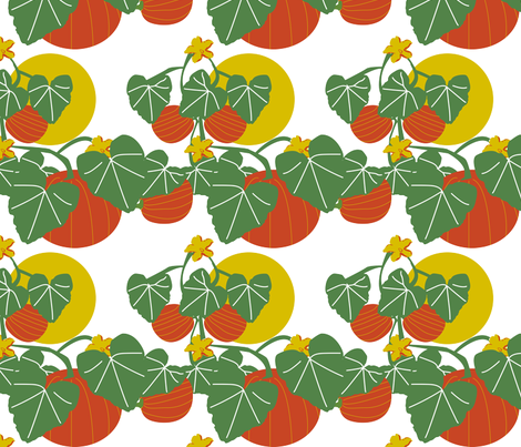 At the Pumpkin Patch fabric by brandymiller on Spoonflower - custom fabric