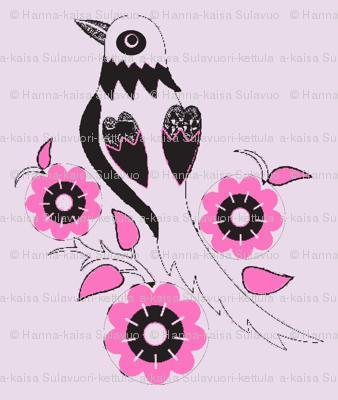 oriental style bird-ch