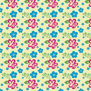 Aloha! Hawaiian Fabric