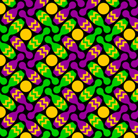 skittle pinwheel X - mardi gras fabric by sef on Spoonflower - custom fabric