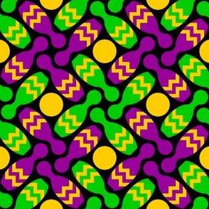 skittle pinwheel X - mardi gras