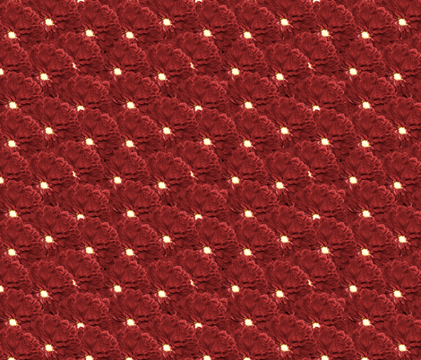 Burgundy Dahlia fabric by pond_ripple on Spoonflower - custom fabric