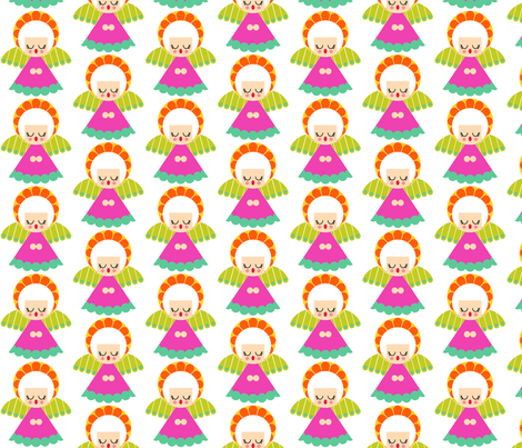 angel-ch fabric by aliceapple on Spoonflower - custom fabric
