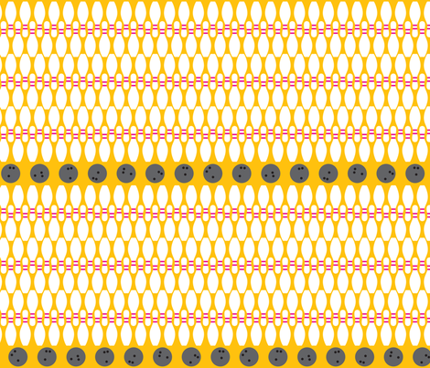 Bowling fabric by ghennah on Spoonflower - custom fabric