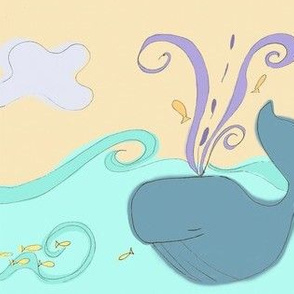 whimsical whale