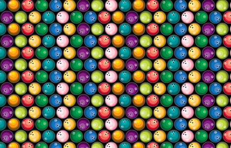 Big Balls of...! fabric by ravenous on Spoonflower - custom fabric