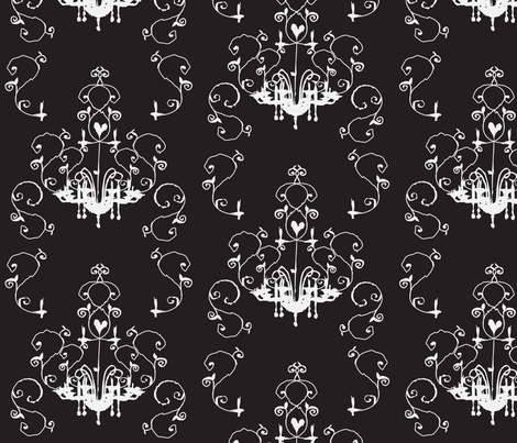 chandelier fabric by wendyg on Spoonflower - custom fabric