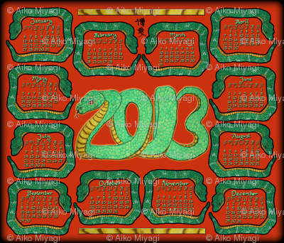 13 snakes for 2013