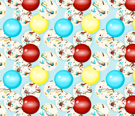jawbreakers fabric by mayabella on Spoonflower - custom fabric