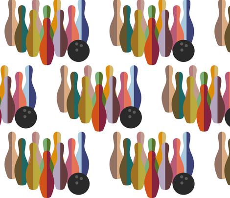 Psychapins fabric by meredithjean on Spoonflower - custom fabric