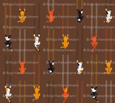 manche KATZEn KrATZEn - some CATs sCrATch - brown