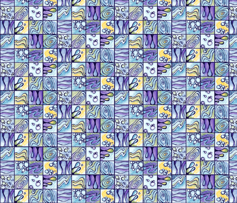 Dripping fabric by beckarahn on Spoonflower - custom fabric