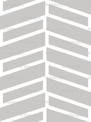 Modern Herringbone / Warm Gray