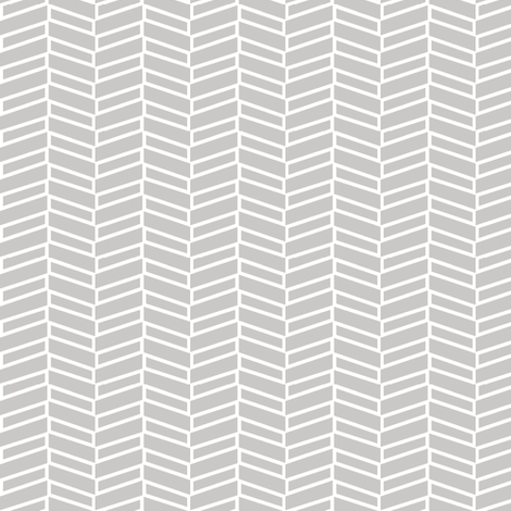 Modern Herringbone / Warm Gray fabric by mjdesigns on Spoonflower - custom fabric