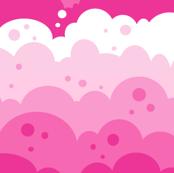 Cloudy Spots - Pink - © PinkSodaPop 4ComputerHeaven.com
