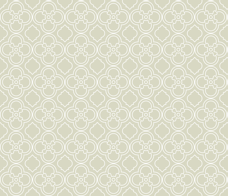Italian Lace in Seafoam Gray