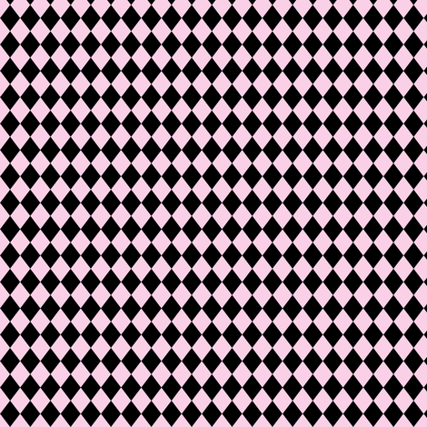 Circus Pink Harlequin Diamonds fabric by beesocks on Spoonflower - custom fabric