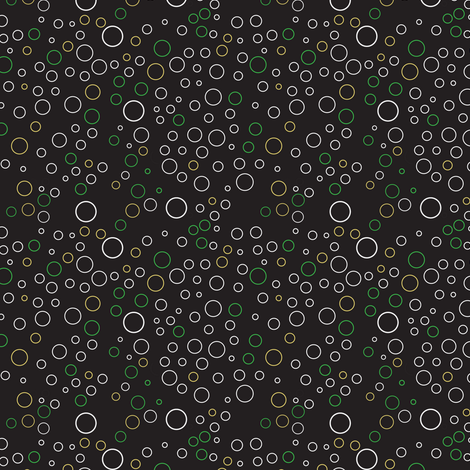 dark_background_bubble_dots fabric by gsonge on Spoonflower - custom fabric