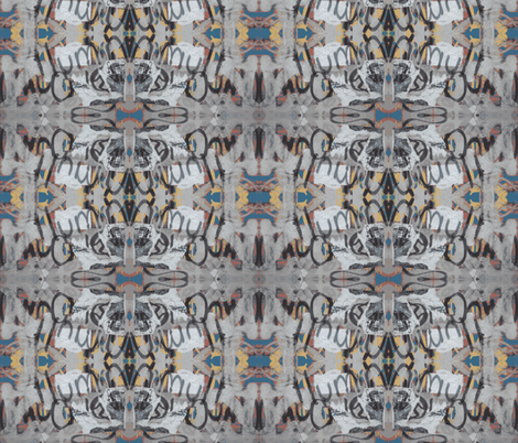 "Say ""Ah"" / Loop-de-loop fabric by relative_of_otis on Spoonflower - custom fabric"