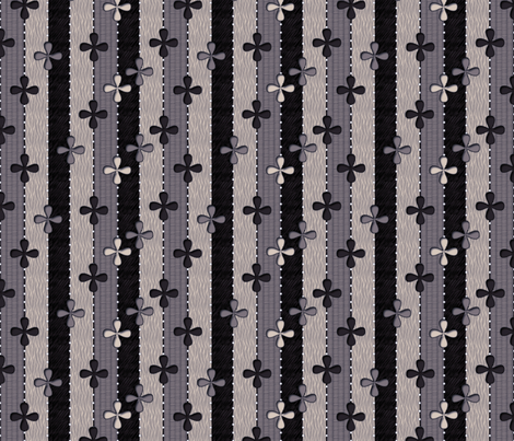 Blackberry Ribbons fabric by glimmericks on Spoonflower - custom fabric