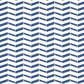 Broken Chevron / Navy