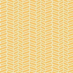 Assymetrical Herringbone / Tangerine