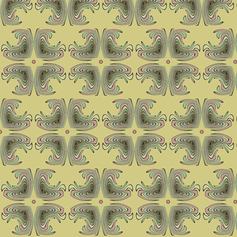 Four Feathers (Yellow) fabric by david_kent_collections on Spoonflower - custom fabric