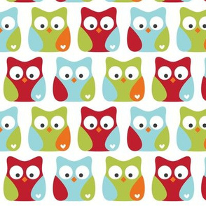 little one boy :: owls