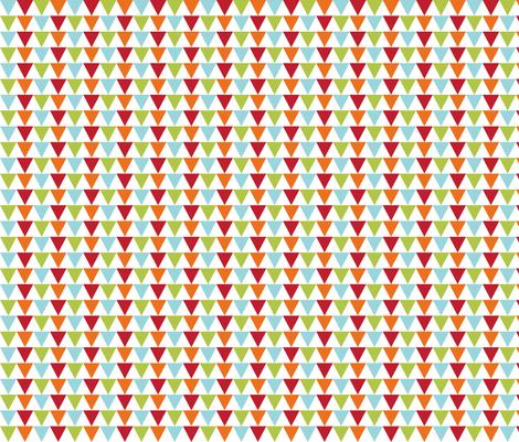 littleone bunting fabric by misstiina on Spoonflower - custom fabric