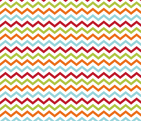 littleone chevron fabric by misstiina on Spoonflower - custom fabric